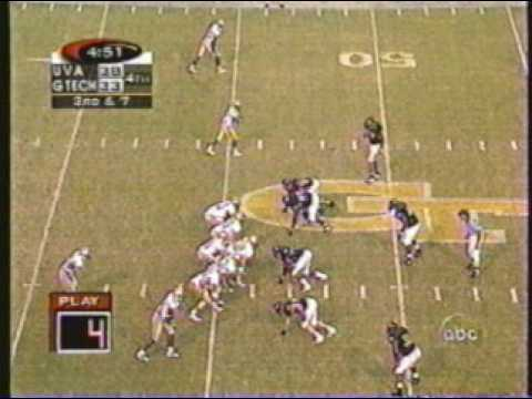 1998 Georgia Tech-Virginia Game Highlights