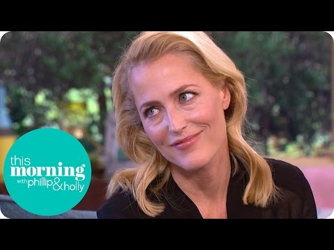 Gillian Anderson Faints At The Sight Of Blood And Gave Her Children Nightmares  This Morning