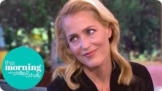 Gillian Anderson Faints At The Sight Of Blood And Gave Her Children Nightmares | This Morning