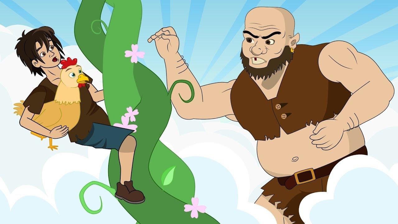 joão e o pé de feijão historia completa desenho animado infantil