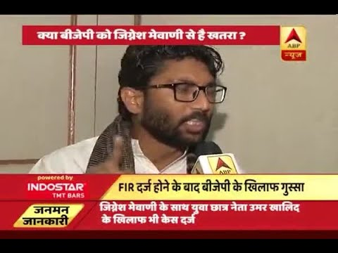 Jan Man: Is BJP scared of Jignesh Mevani for General Elections 2019?