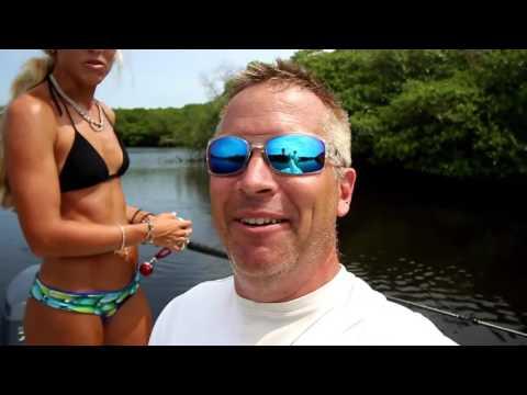 Video Inshore Saltwater Fishing, Jupiter, Florida & First Drone Crash VLOG!