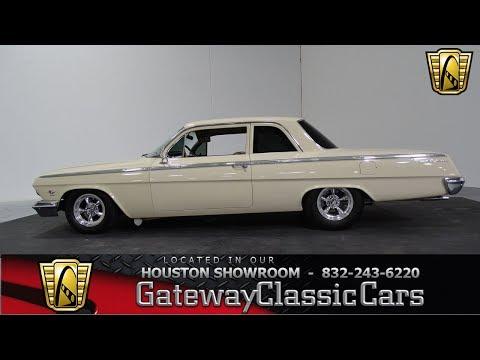 1962 Chevrolet Bel Air Gateway Classic Cars #852 Houston Showroom