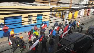 Szykuje się demonstracja :) pozdrawiam z Calamy na pustyni Atacama