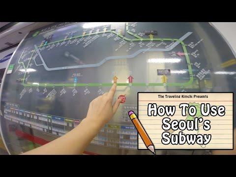 How To Use Seoul's Subway