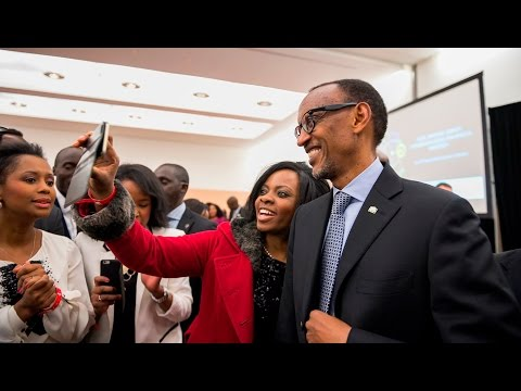President Kagame speaks at the 18th Annual Africa Business Conference banquet dinner