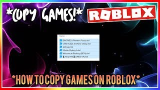 How To Copy A Game In Roblox Studio