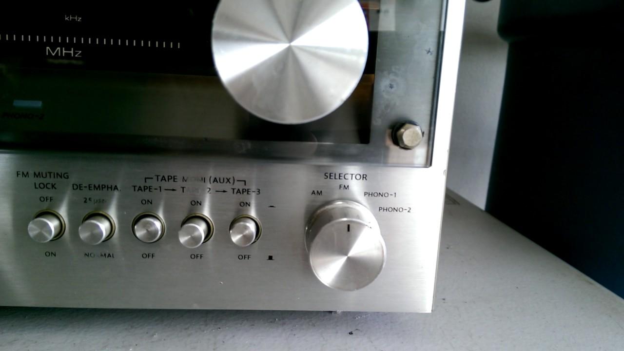 Vintage Onkyo TX-4500 MKII Stereo Receiver