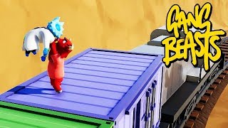 GANG BEASTS ONLINE - Try To Reach For The Cliff [MELEE]