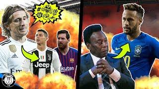 Modric: Nem fair Ronaldo és Messi viselkedése! Pelé most Neymart kritizálta!   Foci Hírek