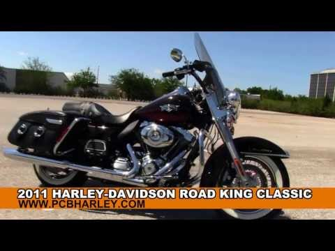 Used 2011 Harley-Davidson FLHRC Road King Classic - Motorcycles for sale
