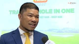 TRISO Trao giải HIO cho golfer Đặng Quốc Hùng