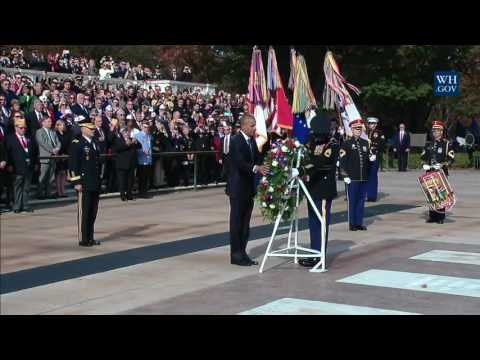 Thumbnail: Wreath Laying at the Tomb of the Unknown Soldier