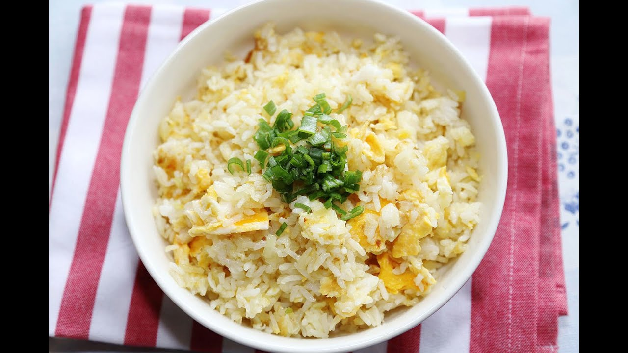 how to cook fried rice without egg