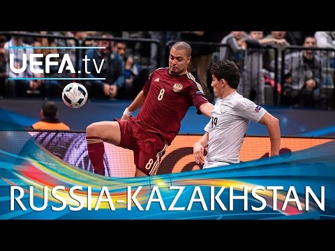 Futsal EURO Highlights: Watch Romulo's stunning strikes