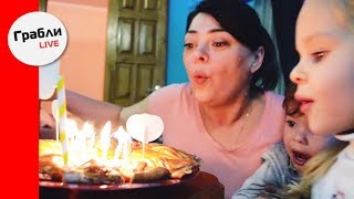 Готовим Красивый  пирог на День рождения!  Простой рецепт. Эффектный результат!