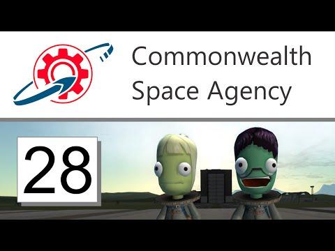 Kerbal Commonwealth Space Agency - 28. New Crew, New Probe (KSP 1.1.2)