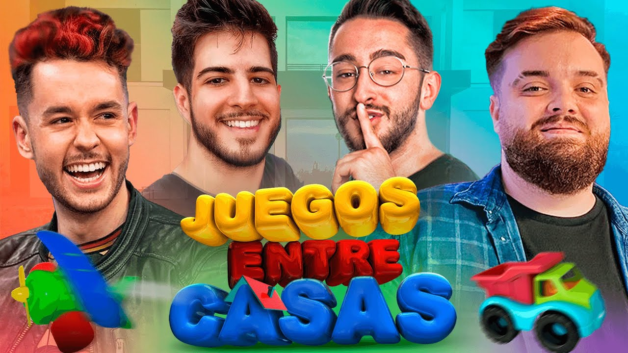 HAGO UNA COMPETICIN DE JUEGOS INFANTILES ENTRE CASAS DE YOUTUBERS