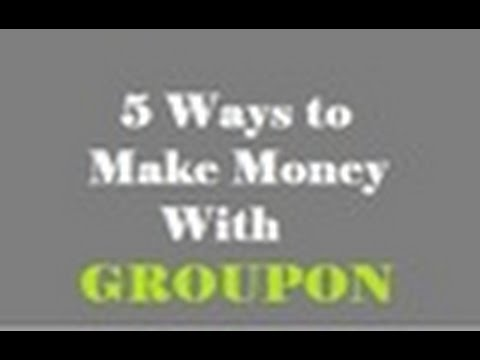 How  to Make Money on Groupon