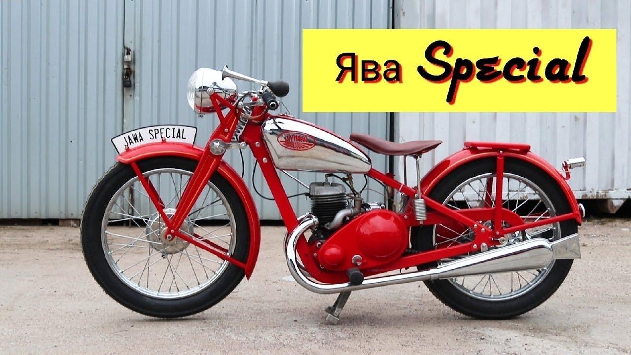 Малоизвестный Мотоцикл Ява. Почему на YouTube почти нет обзоров на Яву SPECIAL?