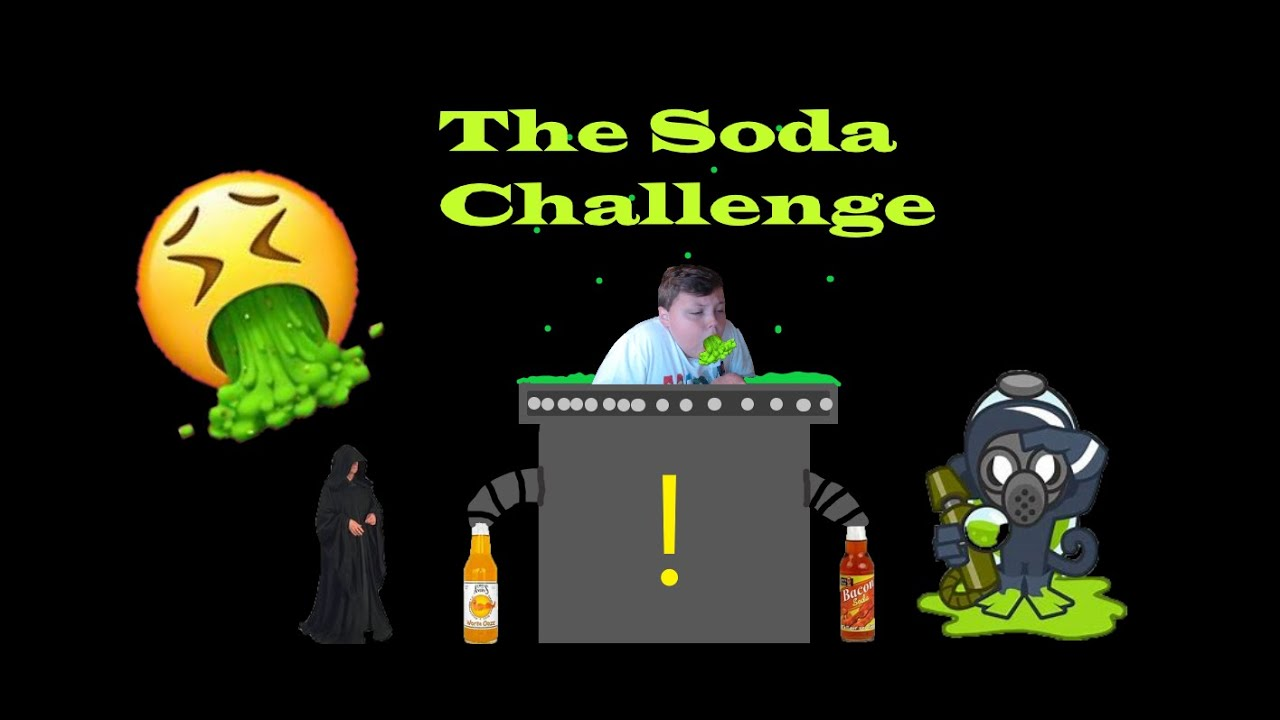 The Gross Soda Challenge ! (Funny)
