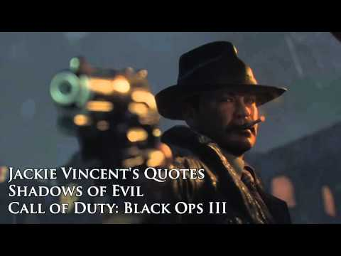"""Jackie Vincent's quotes / sound files (Black Ops III Zombies """"Shadows of Evil"""")"""