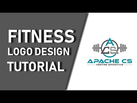 TUTORIAL | Fitness Logo Design From start At The End thumbnail