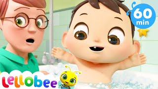 Baby Bath Song | +More Nursery Rhymes & Kids Songs  | ABCs and 123s | Little Baby Bum