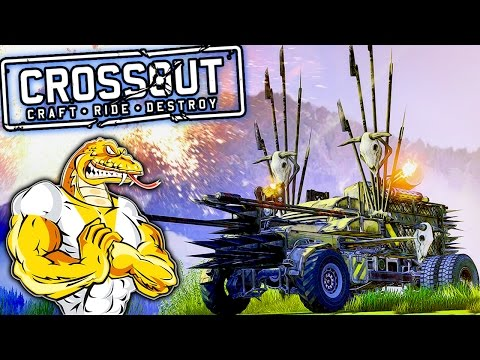 CROSSOUT | Build Your Own Butt Tank!! Post-Apocalypse Vehicle Battle | Crossout Multiplayer Gameplay