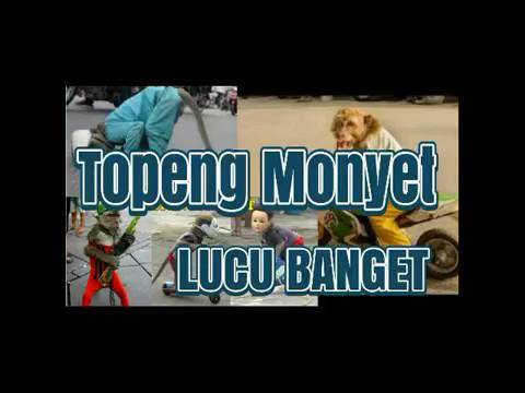 Topeng Monyet Sangat lucu - Monkey mask is very funny