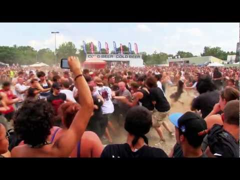 2012 Rockstar Energy Drink Mayhem Festival Highlights