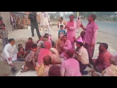 Holi Songs In Open Sky Theatre, Sugaon, India