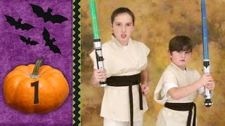 Halloween Countdown 1 - Jedi Knights from Star Wars