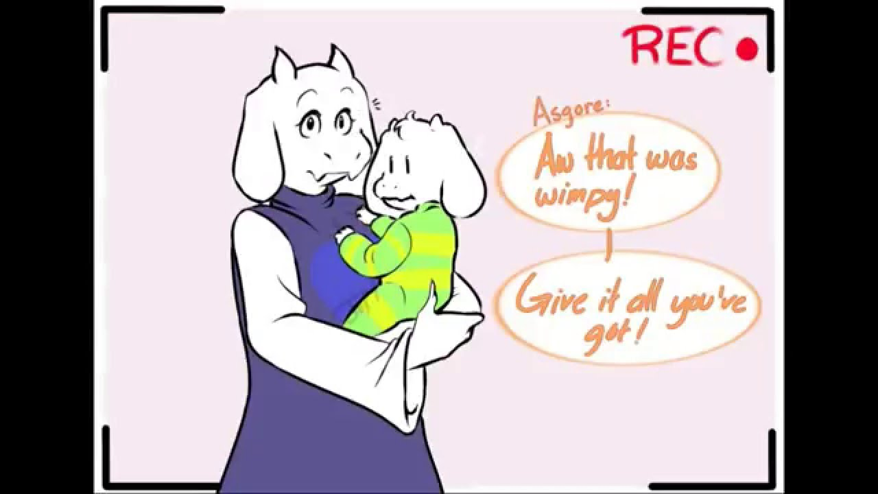 Asriel Dreemurr Comic undertale (short comic dub) baby asriel - youtube