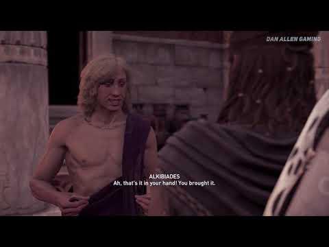 Assassin's Creed Odyssey - All Alkibiades Romances ( Alexios Love Scenes )