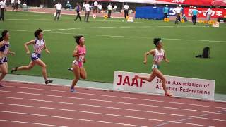第101回日本陸上競技選手権 女子800m予選2組 ラスト thumbnail