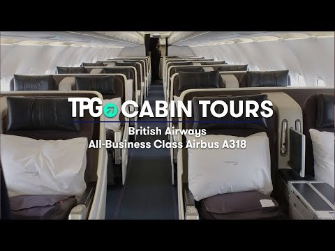 Cabin Tour: British Airways' All-Business-Class Airbus A318 to New York-JFK