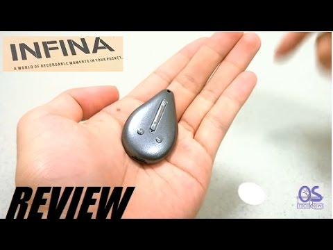 REVIEW: INFINA N3 Digital Voice Recorder Spy MP3 Player?!