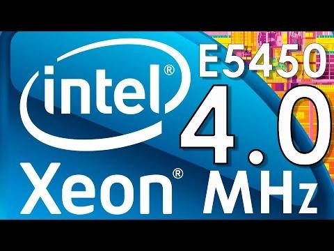 Intel Xeon e5450 4.0MHz: разгон и температура на s775