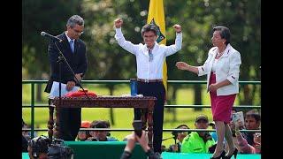 Así transcurrió la posesión de Claudia López, primera alcaldesa de Bogotá