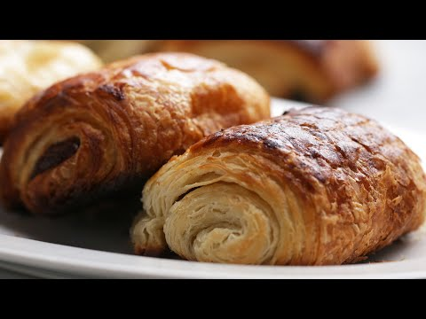 Homemade Chocolate Croissants