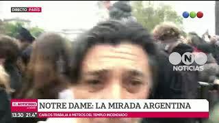 Notre Dame: la mirada argentina - El noticiero de la gente