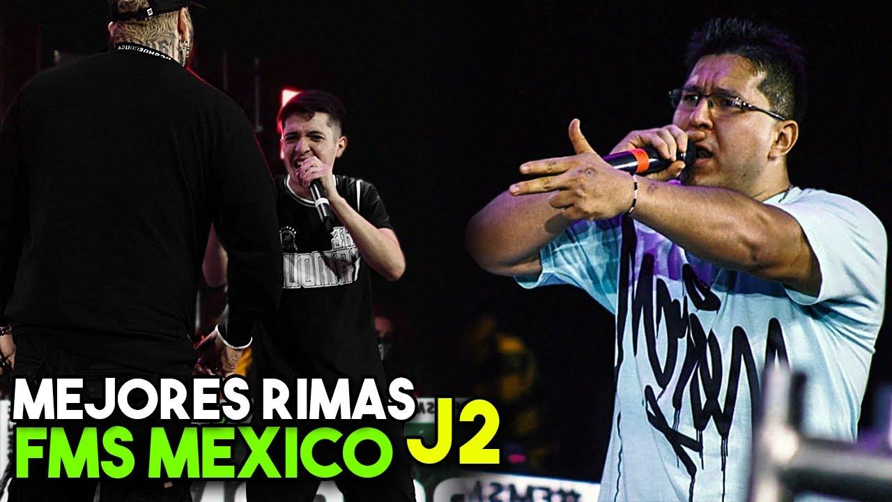 Las MEJORES RIMAS de la FMS MÉXICO J2 (2020)