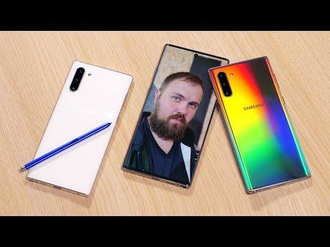 Первый взгляд на Samsung Galaxy Note 10+ и Note 10