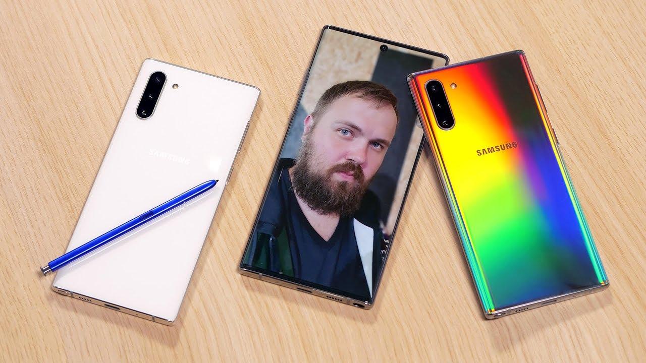 Download Первый взгляд на Samsung Galaxy Note 10+ и Note 10