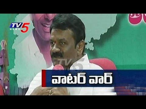 Water War Between Telugu States | CM Chandrababu Vs CM KCR | TV5 News