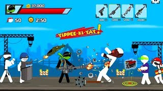 Stickman maverick : bad boys killer Walkthrough Part 1 / Android Gameplay