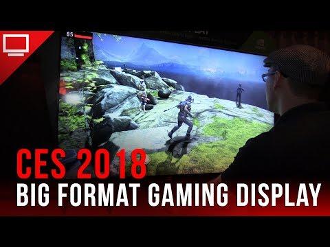 CES 2018: Confira os novos monitores da Asus no formato BFG da Nvidia