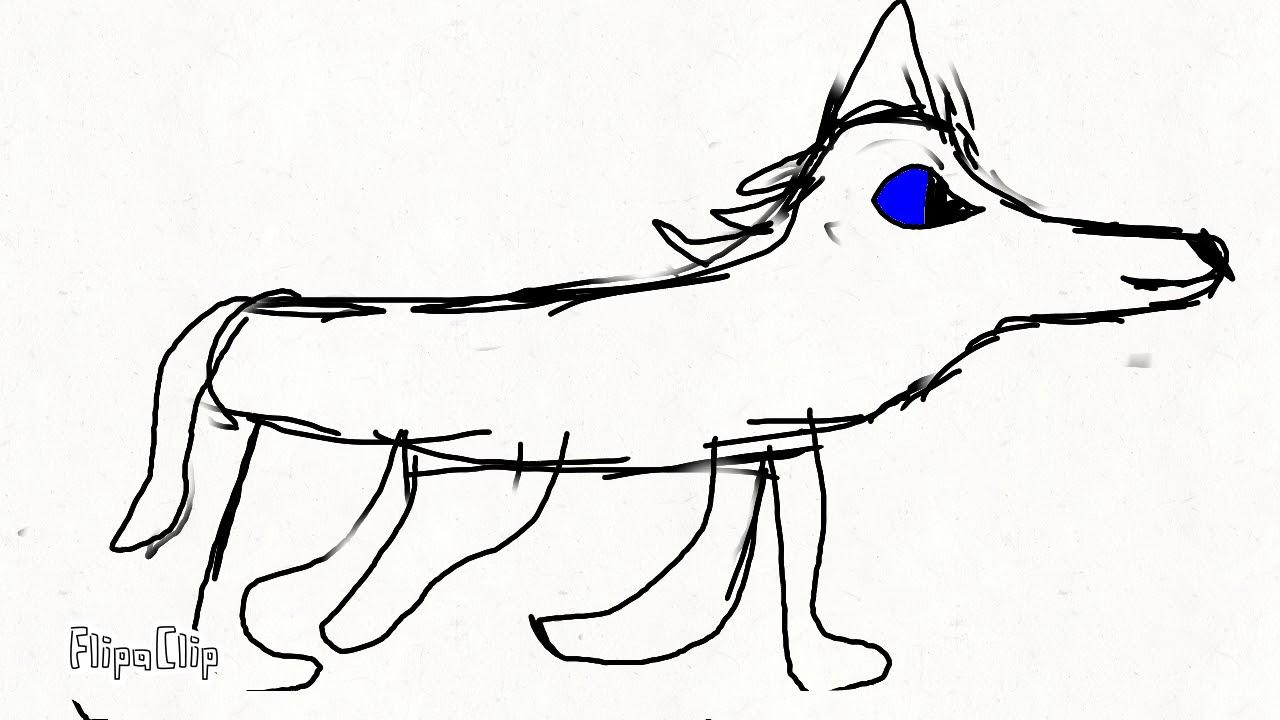 Картинки волк в наушниках для срисовки