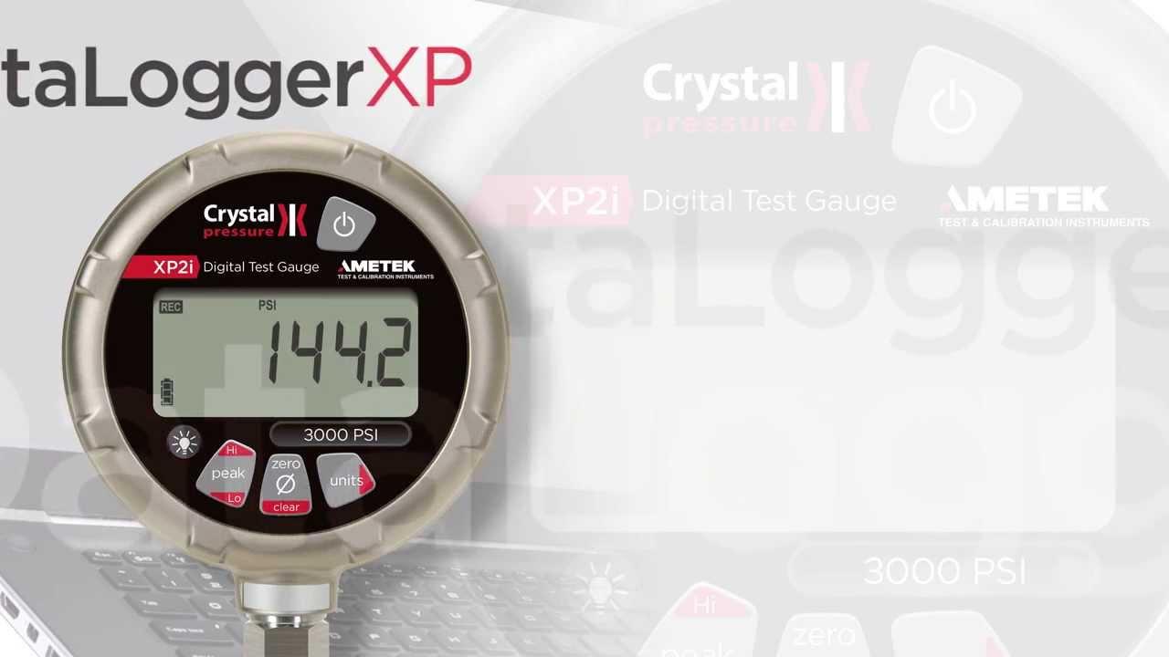 Crystal Engineering Xp2i Dataloggerxp Youtube